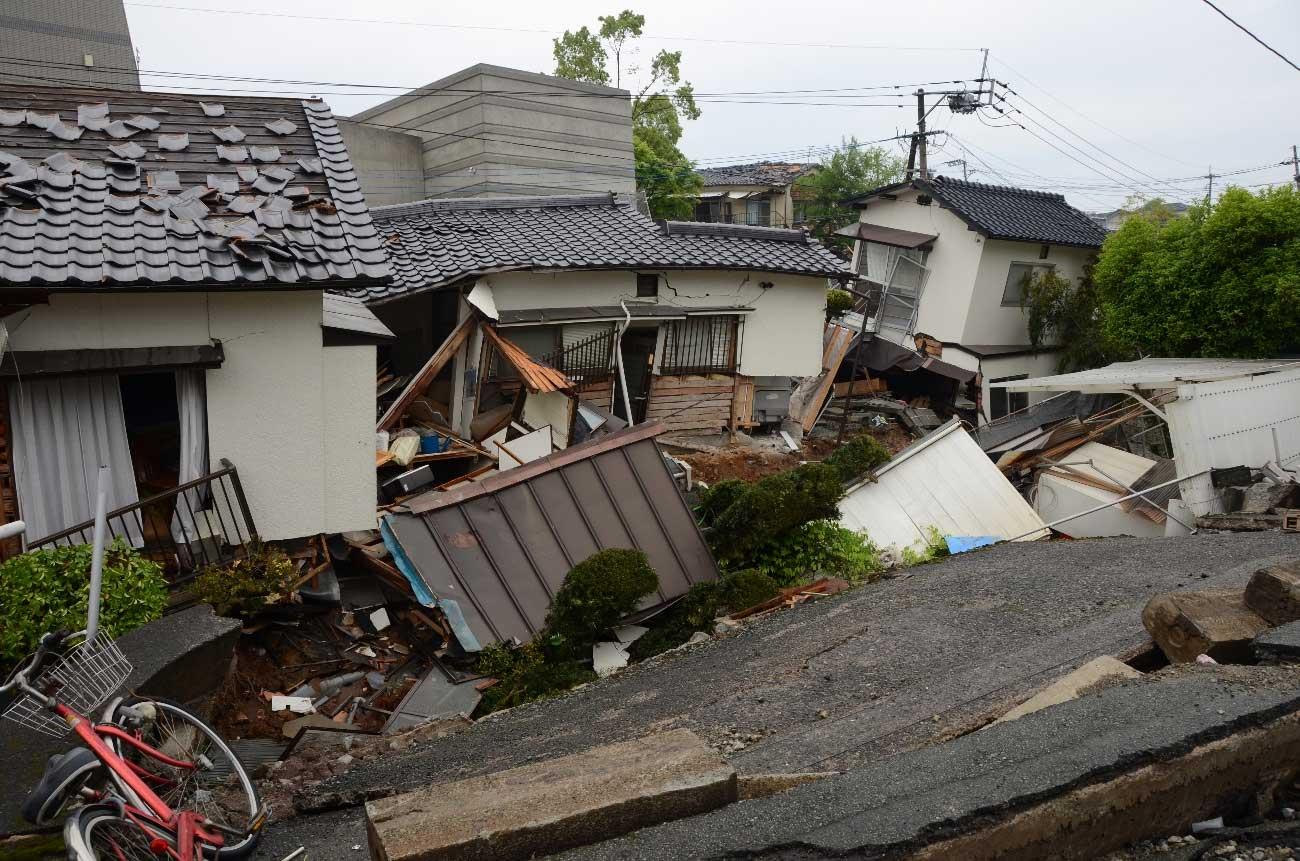 熊本地震では約20万戸もの住宅が損壊した