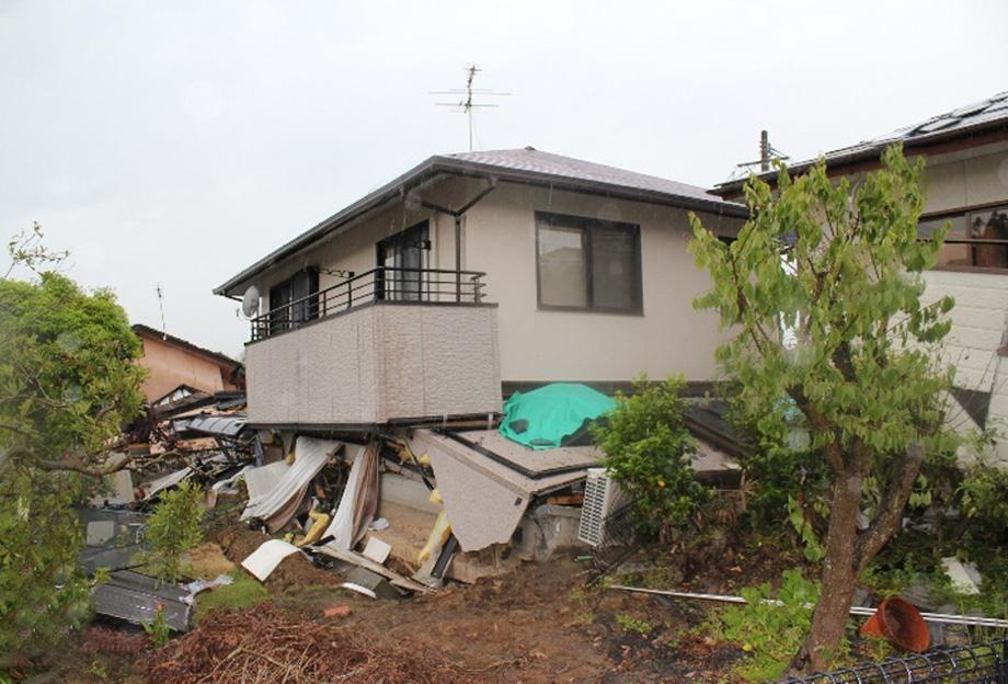 熊本地震では新耐震基準で建てられた住宅も多数全壊した